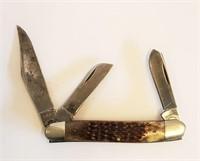 Vintage CASE XX 6347HP Stockman 3 Blade Jack Knife