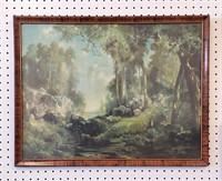 Three Early 20th C Prints Thomas Moran & Others