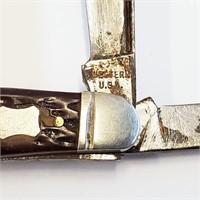 Vintage Western Stockman 3 Blade Jack Knife 426