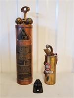 Wilbur Fire Extinguisher & Blow Torch Copper Brass