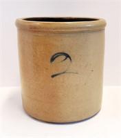 Primitive Two Gallon Stoneware Jug