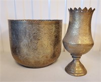 Vintage India & Other Decorative Brass Pieces