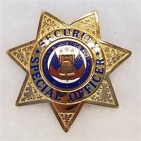 3 Badges Security Officer LA Police Safety Patrol