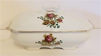 3 Antique Covered Vegetable Dishes Meakin Etc