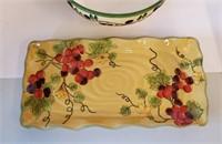 Decorative Ceramic & Graniteware Serving Dishes