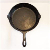 GRISWOLD Erie PA Cast Iron #10 Skillet 716B