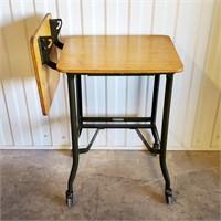 Great Machine Age Steampunk Typewriter Stand