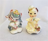 Josef Originals CA Nip & King Baby Figurines
