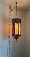 """22"""" Hollywood Regency Style Hanging Ceiling Lamp"""