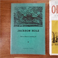 9 Vintage Books About Jackson WY Elk Signed Murie