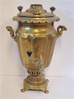 Antique Brass Turkish Tea Samovar #2