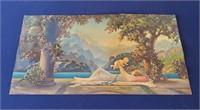 2 1920s Atkinson Fox Paradise & Old Garden Prints