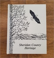 BOOK Sheridan County Heritage 1983 1034 Pages