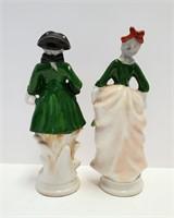 "8"" Occupied Japan UCAGCO Figurines Man & Woman"