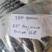780 Grams Solid Sterling Silver Scrap 25 Troy Oz