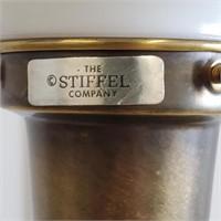 "Vintage High Quality 43"" Stiffel Table Lamp"