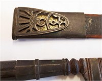 Very Old Antique Spanish Hunting Fighting  Dagger