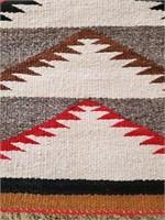 Antique Navajo Saddle Blanket Mountain Pattern