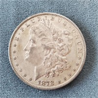 1878-P & 1879-S US Morgan Silver Dollar Coins