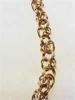 """16 1/2"""" Intricate Gold Filled Necklace"""