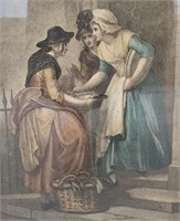 Early 19th Century Cries of London Engraving