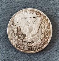 1885-P US Morgan Silver Dollar Coin