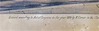 1854 N Currier LIFE OF A FIREMAN HC Lithograph