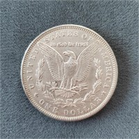 1886-P US Morgan Silver Dollar Coin