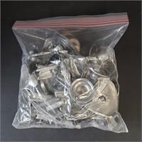 845 Grams Solid Sterling Silver Scrap 27+ Troy Oz