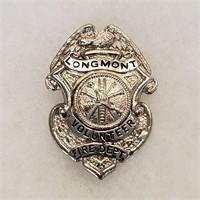 Vintage Longmont Colorado Fire Dept Badge