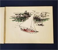 Rupert Conrad's Nassau Bahamas Sketchbook