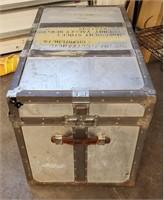 KOWA  Aluminum Metal Trunk NY Military Provenance