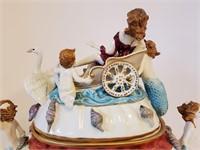 Antique Rich Klemm Dresden Porcelain Tureen  AS IS