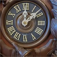 Vintage German Black Forest Cuckoo Clock AS IS