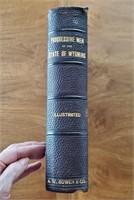 RARE 1903 BOOK Progressive Men State of Wyoming