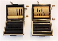 2 1928 Rolmonica Bakelite Player Harmonicas Rolls
