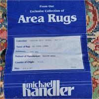 """KARASTAN 100% Wool Kirman Area Rug 12' x 8'8"""""""