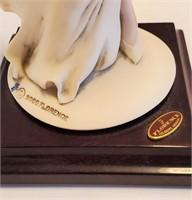"""12 1/2"""" Giuseppe Armani Lady & Camellias Figurine"""