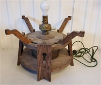 Arts & Crafts Mission Style Lamp Base