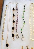 Costume Jewelry Necklaces Bracelets Goody Bag