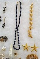 Costume Jewelry Judie Ingram Hematite Monet