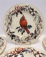 LENOX Winter Greetings Christmas China Mugs Plates