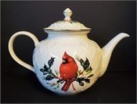 LENOX Winter Greetings Christmas China Teapot Etc