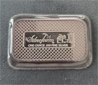 Silvertowne 1 Troy Ounce .999 Silver Bar