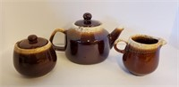Vintage Brown McCoy & Other Pottery Dishes