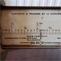 Antique 1918 Pelouze Candy & Other Balance Scales