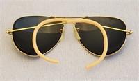 1950s RAYBAN Prescription Aviator Sunglasses