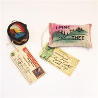 Yellowstone Park Souvenirs Compact Mailers Spoons
