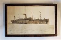 WW1 WW2 Photos USS Manchuria 44th Armored Reg