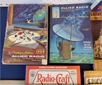 1930s Short Wave Radio Mags Catalogs Manuals Tubes